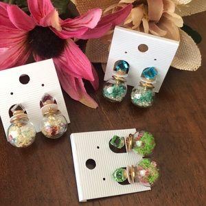 Set 3 earrings